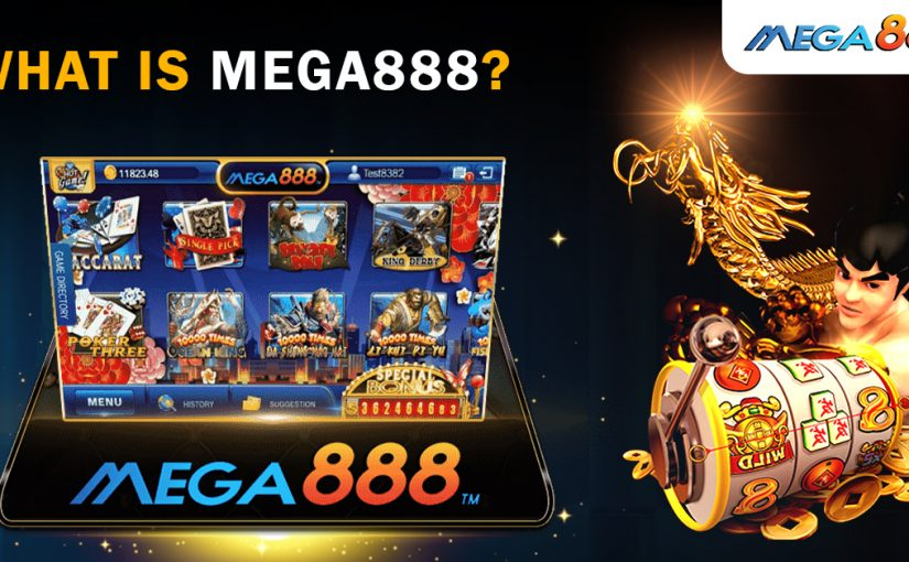 mega888 a wide span of winning options  you can try small betting games